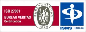 ISMS(ISO27001)認証ロゴ